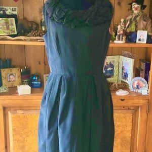 Amazing Silk Sleeveless Black Party Dress